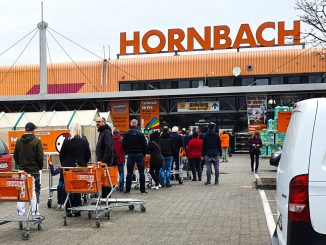 Hornbach Baumarkt April 2020