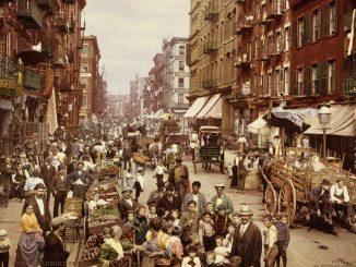 New York 1890 mulberry street