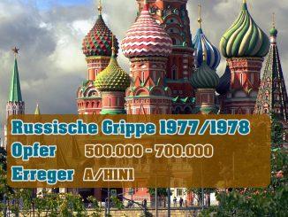 Pandemie - Russische Grippe 1977-1978