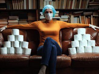 Corona Krise: Toilettenpapier als teures Handelsgut