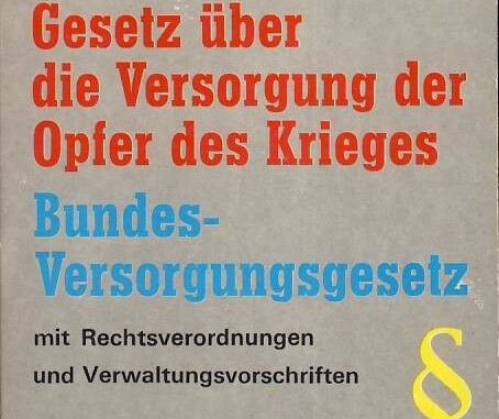 Bundesversorgungsgesetz BVG