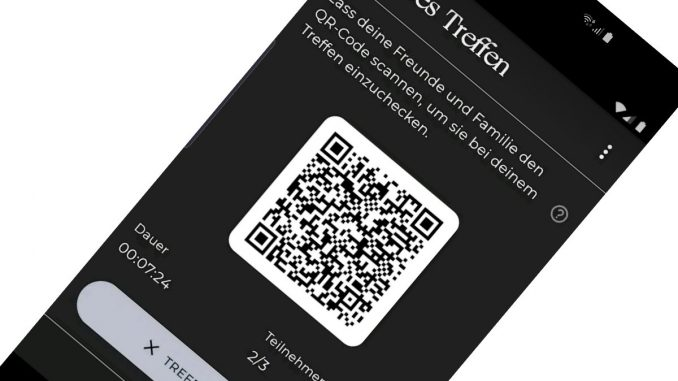 Luca-App Kontaktnachverfolgung