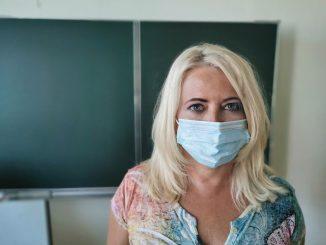 OP-Maske medizinischer Mund-Nasen-Schutz