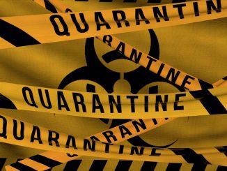 Quarantäne in der Coronavirus SARS-CoV-2 Pandemie