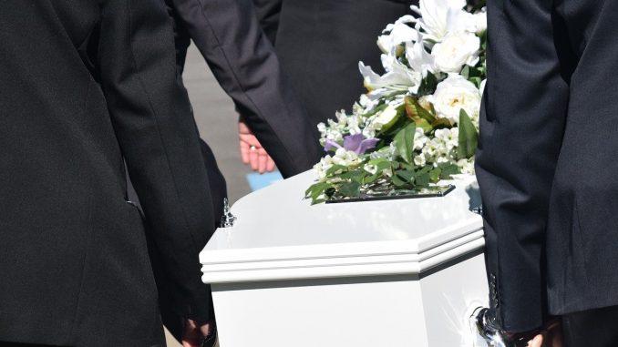 Beerdigung: Gestorben an Coronavirus SARS-CoV-2