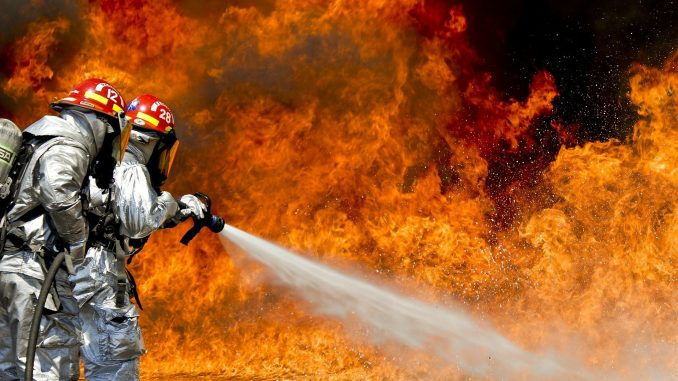 Passive Impfung - die Feuerwehr im Kampf gegen Corona