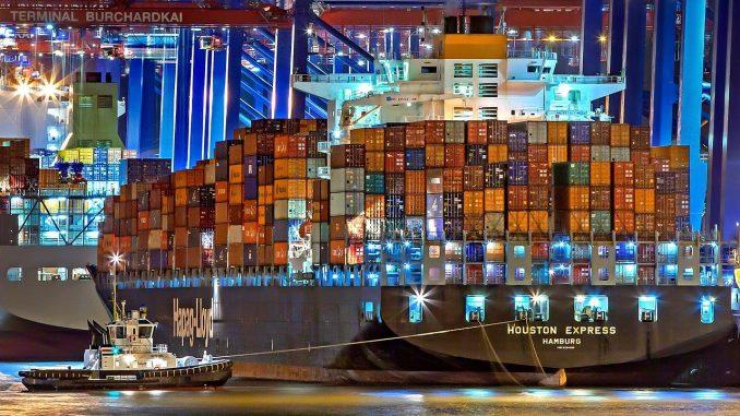 Schifffahrtskrise wegen Coronavirus SARS-CoV-2 Pandemie