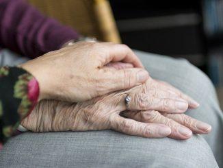 Ältere Menschen Coronavirus